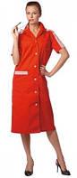 Женский рабочий халат, униформа для горничных