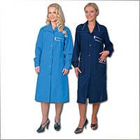 Халат женский рабочий, спецодежда для женщин, халат уборщицы, униформа