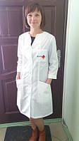 Халат медицинский, медицинская одежда, пошив халатов для медсестер, спецодежда