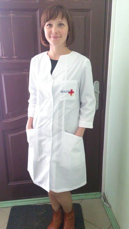 ce422bc1a97a Халат медицинский, медицинская одежда, пошив халатов для медсестер,  спецодежда - МС Групп,