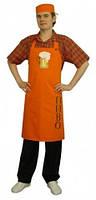 Униформа для официантов, фартук бармена, рабочая одежда для кафе