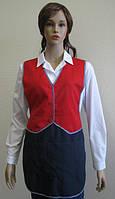 Фартук-жмлет, униформа официанта, одежда для сферы обслуживания