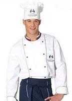 Комплект поварской,китель повара, брюки поварские, головной убор поварской