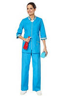 Женский костюм для клининга,Одежда для уборщиц,Спецодежда для уборки помещений