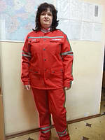 Униформа для скорой помощи, куртка и брюки для скорой помощи, медицинская одежда