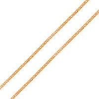 Золотая цепь Женева в плетении ромб, 2мм 000069391 40 размер