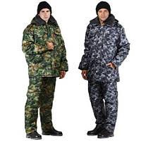 Костюм утепленный охрана. Зимний костюм