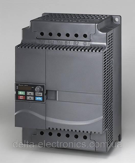 Перетворювач частоти Delta Electronics, 15 кВт, 460В,3ф.,векторний, з вбудованим ПЛК,VFD150E43A
