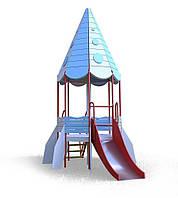 """Детский комплекс """"Ракета"""" (горка 1,2 м) Kidigo / Детские площадки"""