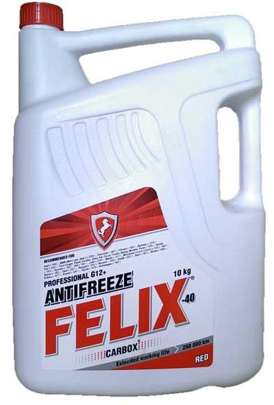 Антифриз Felix (-40 ºС) красный 10кг.