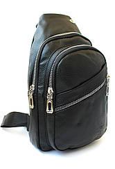 """Чоловіча сумка-слінг через плече, з кожзама """"Polo"""" YR 6636"""