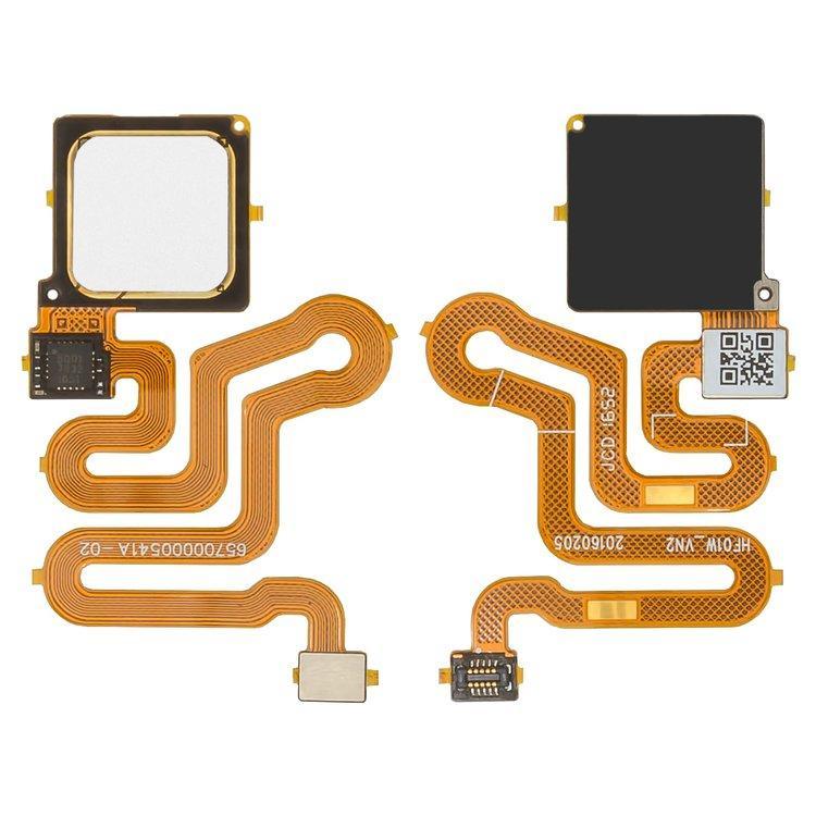 Шлейф для Huawei P9   P9 Lite, с сканером отпечатка пальца, белый