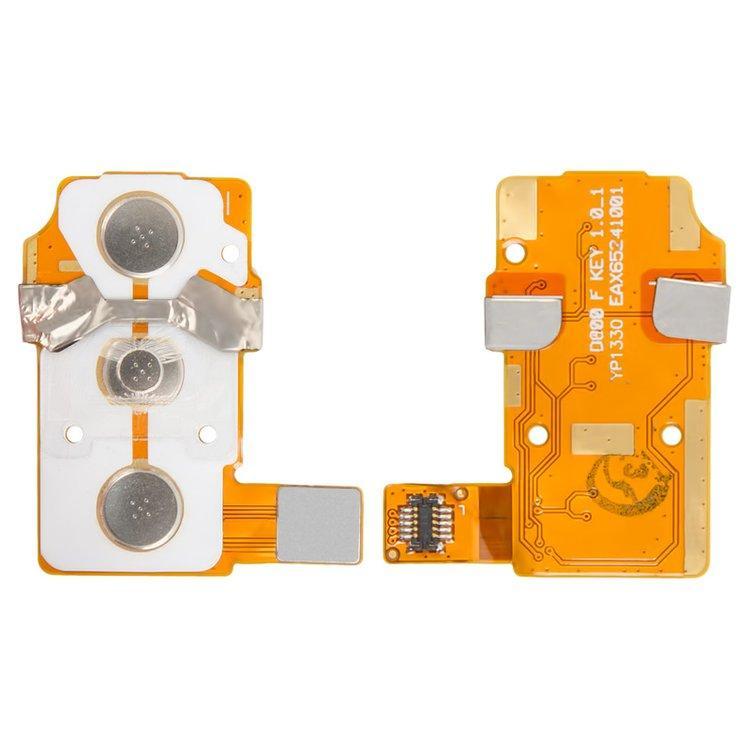 Шлейф для LG D800 Optimus G2   D801   D802   D803   D805с кнопкой включения и регулировки громкости и комп.