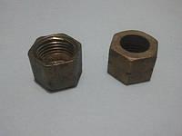 Гайка М 16х1.5 левая,правая резьба под нипель d-9мм
