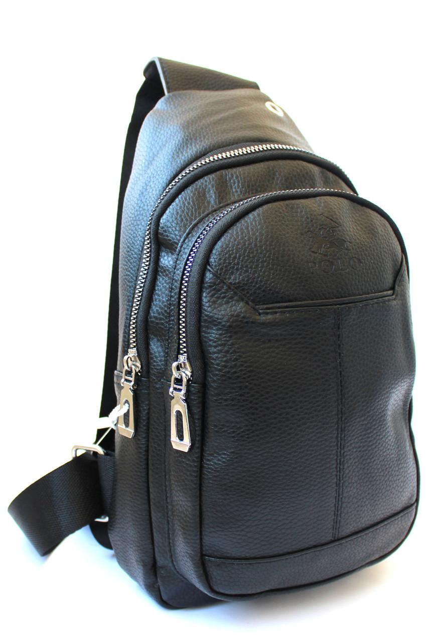 "Мужская сумка-слинг через плечо, из кожзама ""Polo"" YR 6638"