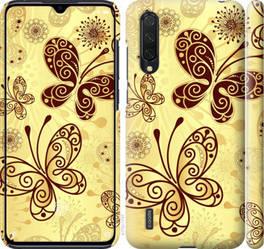 """Чехол на Mi 9 Lite Красивые бабочки """"4170c-1834-328"""""""