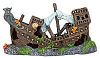 Декорация для аквариума Trixie Разбитый корабль