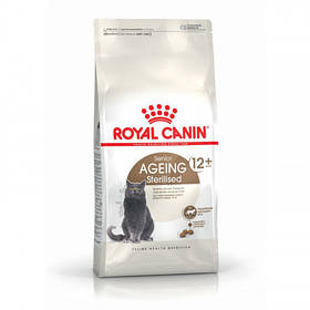 Сухой корм Royal Canin Sterilised Ageing 12+ для стерилизованных кошек от 12 лет, 2 кг