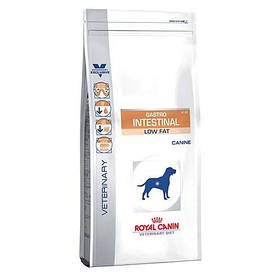 Сухой корм Royal Canin Gastro Intestinal Low Fat при нарушениях пищеварения у собак склонных к лишнему весу, 1.5 кг