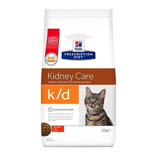 Сухой корм Hills Prescription Diet Feline для кошек с заболеванием почек и сердечной недостаточности, 400 г