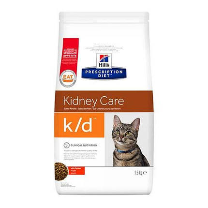 Сухой корм Hills Prescription Diet Feline для кошек с заболеванием почек и сердечной недостаточности, 400 г, фото 2