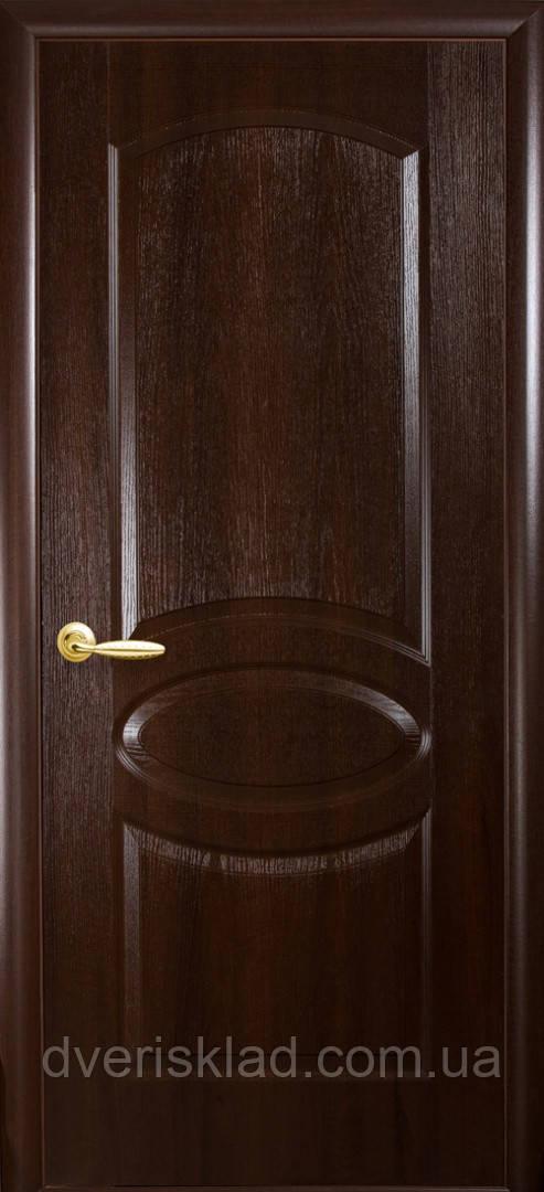 Дверь ПВХ (Фортис) RT сплошной овал