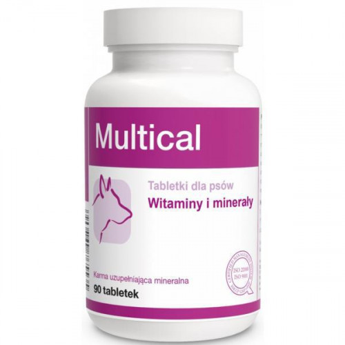 Пищевая добавка Dolfos Multical для повышения физиологического развития для собак, 90 табл.
