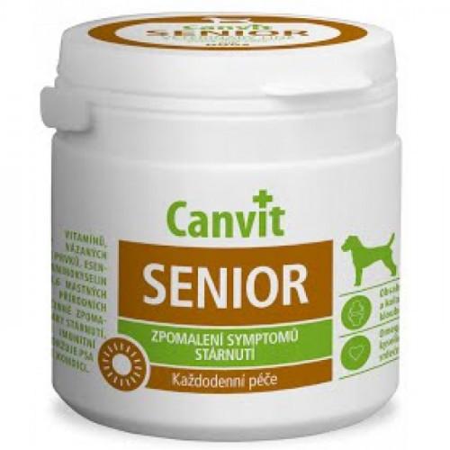 Витаминная добавка Сanvit Senior for Dogs для замедления признаков старения для пожилых собак от 7 лет, 100 г
