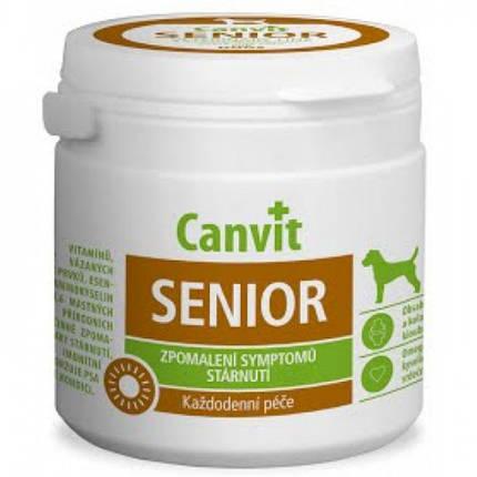 Витаминная добавка Сanvit Senior for Dogs для замедления признаков старения для пожилых собак от 7 лет, 100 г, фото 2