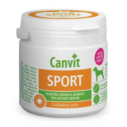 Вітамінна добавка Сanvit Sport for Dogs для зміцнення здоров'я для собак, 230 г
