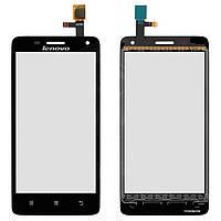 Сенсорный экран (touchscreen) для Lenovo S660, оригинал