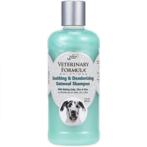 Шампунь Veterinary Formula Soothing & Deodorizing Oatmeal Shampoo для собак и котов, 503 мл