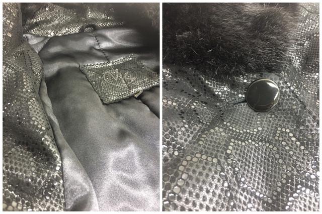 Кожаная куртка женская с мехом