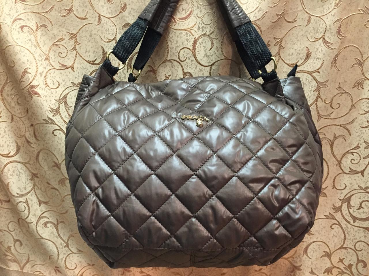 (Текстиль)Женские сумка стеганная prada.Стильная/спорт/Сумка женская спортивная/сумка стеганная