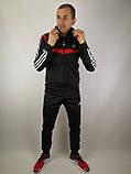 Мужской спортивный костюм Adidas копия, фото 6