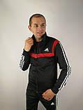 Мужской спортивный костюм Adidas копия, фото 3