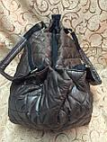 (Текстиль)Женские сумка стеганная prada.Стильная/спорт/Сумка женская спортивная/сумка стеганная, фото 3