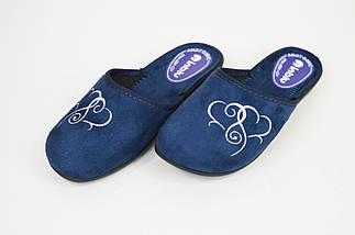 Тапочки женские Inblu NC5B Синие, фото 2