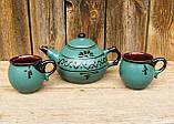 Чайний набірна 4 особини зелений, фото 2