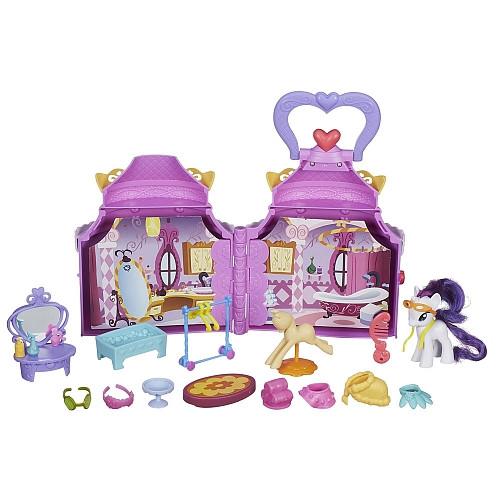 My Little Pony Игровой набор Бутик Рарити (Уценка), B1372