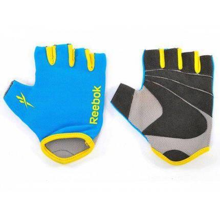 Фитнес-перчатки Reebok RAGL-11132CY, фото 2