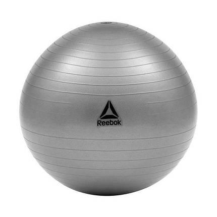 Мяч гимнастический Reebok RAB-12015GRBL 55 см серый, фото 2
