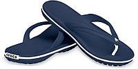 Вьетнамки мужские летние Crocs Crocband Flip Flop синие