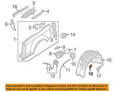 Клипса крепления защиты моторного отсека,подкрылки на Шкода, фото 3