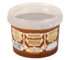 """Молоко згущене варене ІРИСКА """"Полтавочка"""" 370г 8,5% жиру"""
