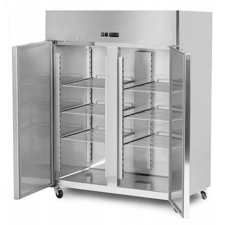 Морозильный шкаф двухдверный TS1400N GGM gastro (Германия), фото 2