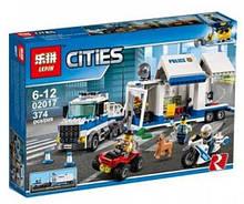 """Конструктор Lepin Cities """"Мобильный командный центр"""" 374 детали"""
