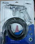 Пистолет пескоструйный пневматический со шлангом AUARITA PS-3 (Италия/Китай), фото 2