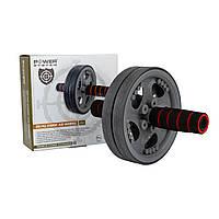 Колесо для преса Power System, металл, резина, серый (PS-4042_Grey-Black), фото 1
