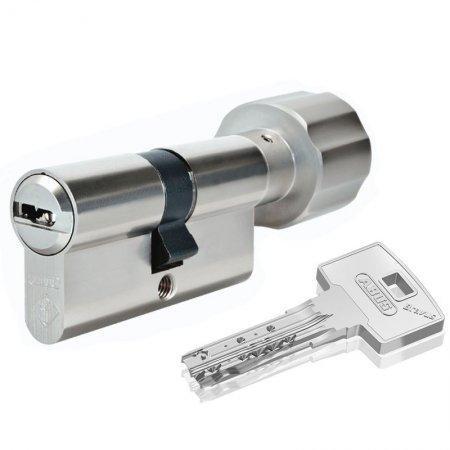 Цилиндр Abus Bravus 4000 Сompact 100 мм (40х60Т) ключ/поворотник